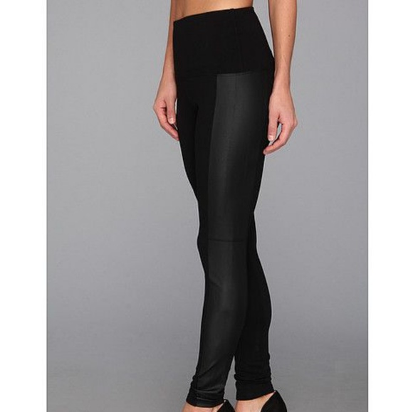 f986445212ffc3 Lysse Vegan Leather Side Panel Black Legging. M_5b2fd883aaa5b83922155f71